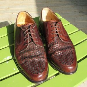 Johnston & Murphy Cellini Dress Shoes Italian 9.5